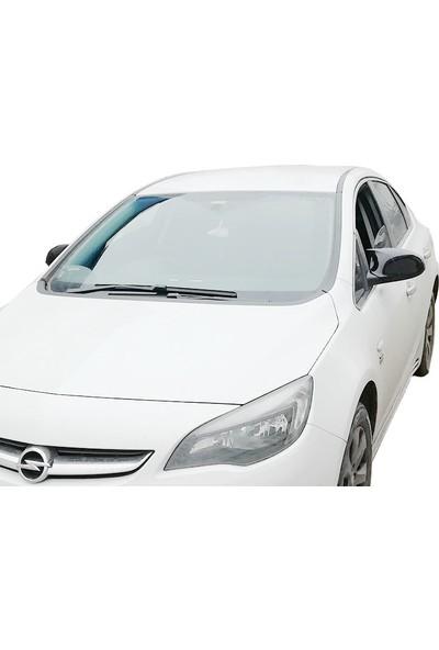 D-Line Opel Astra J 2009 Sonrası HB, S - Yarasa Ayna Kapağı (P. Black)