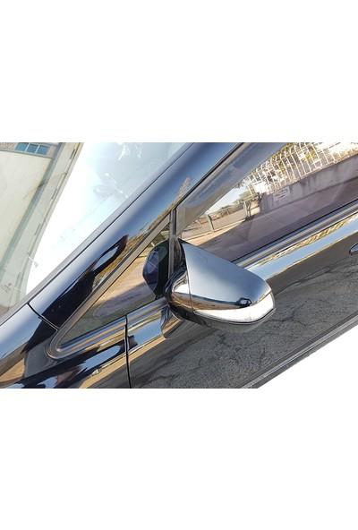 D-Line Honda Civic 2006-2011 Fd6 - Yarasa Ayna Kapağı (P. Black)