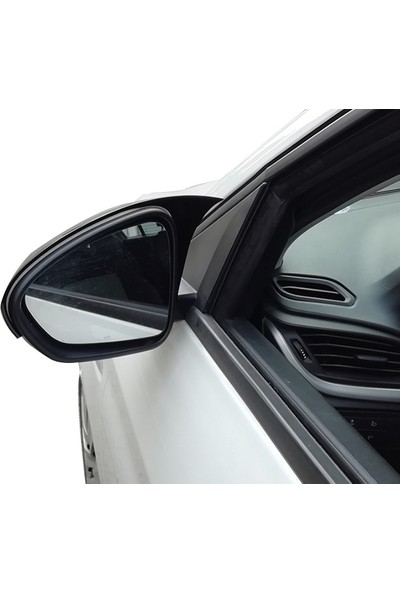 D-Line Fiat Egea 2015 Sonrası Hb, S - Yarasa Ayna Kapağı (P. Black)