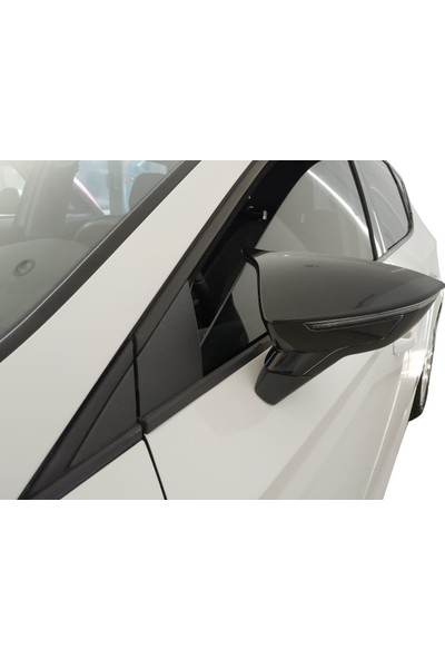 D-Line Seat Leon 2012 Sonrası Mk3/3.5 - Yarasa Ayna Kapağı (P. Black)