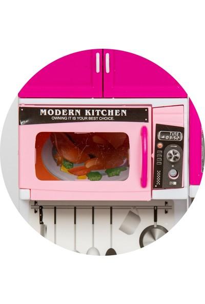 Atlas Oyuncak Işıklı Sesli 3'lü Mutfak Seti