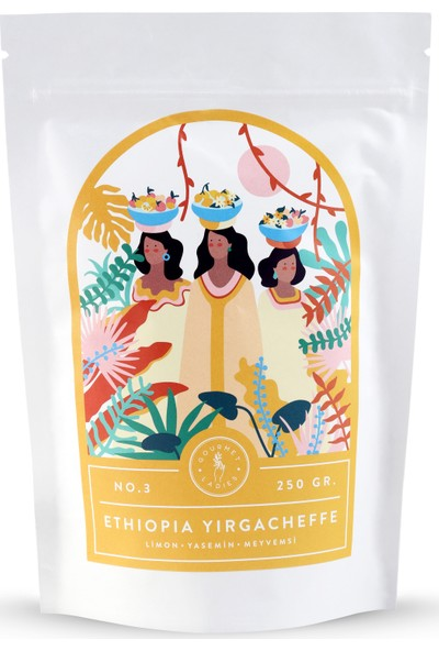 Gourmet Ladies Etiyopya Yirgacheffe Kahvesi 250 gr