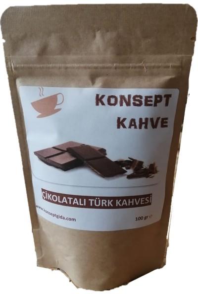 Konsept Çikolatalı Türk Kahvesi 100 gr