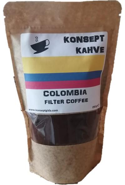 Konsept Colombia Filtre Kahve 250 gr