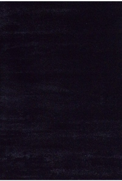 Balat Halı Düz Siyah Renk Dekoratif Oturma Odası Mutfak ve Salon Halısı
