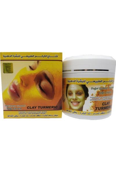 Zaman Halep Doğal Zerdeçal Yüz Maskesi Yağlı Cilt Için 450GR
