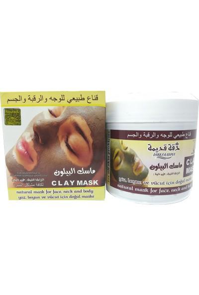 Zaman Halep Çamur Maskesi Cildi Beyazlatmaya 450 gr