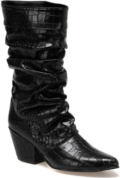 Butigo Tarassa Siyah Kadın Çizme