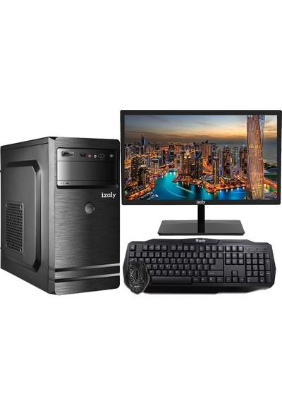 """İzoly M189 İ5-560m 3.20Ghz 8GB 320GB 20"""" Masaüstü Bilgisayar"""