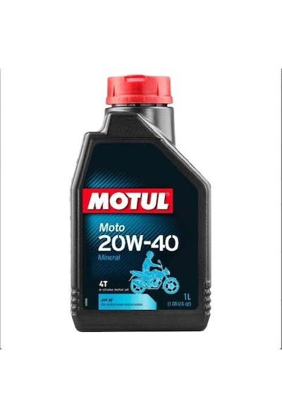 Motul Motosiklet Yağı Mineral 20W-40 1 lt (Üretim Yılı:2019)