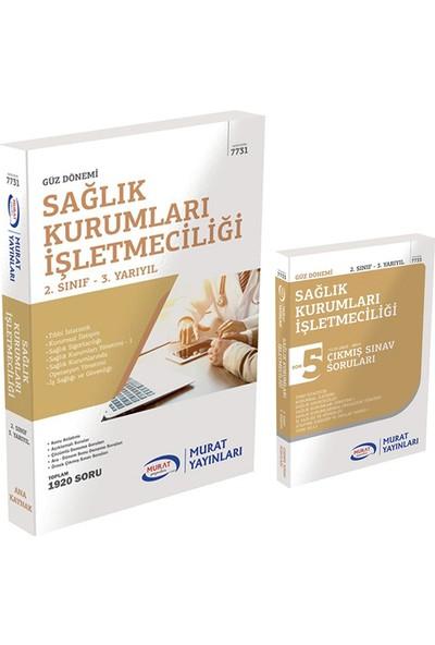 Murat Yayınları AÖF Sağlık Kurumları İşletmeciliği 2. Sınıf 3 Yarıyıl Güz Dönemi Konu Anlatımlı Soru Bankası Set