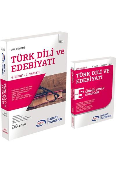 Murat Yayınları AÖF Türk Dili ve Edebiyatı 4. Sınıf 7.yy Güz Tüm Dersler Konu+Çıkmış Set