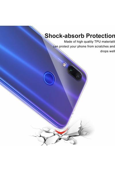 Case 4U Xiaomi Redmi Note 8T Kılıf Süper Silikon Arka Kapak Şeffaf
