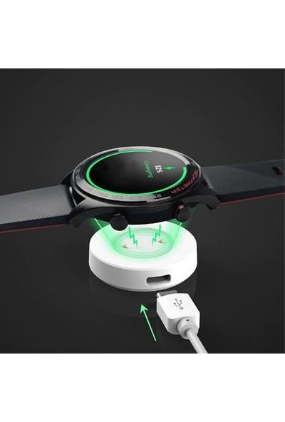 Ally Huawei Watch Gt-Honor Watch Magic Şarj Kablosu Adaptör - Beyaz