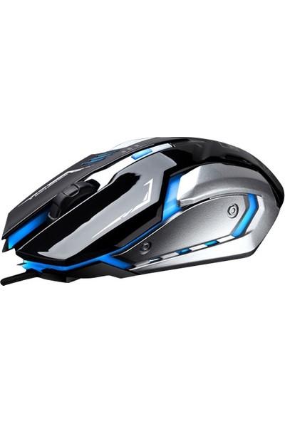 Ally K1 Led Işıklı Oyuncu Gaming Mouse Al-30061
