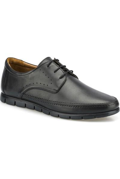 Polaris 5 Nokta 102090.M Siyah Erkek Klasik Ayakkabı