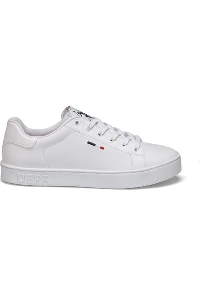 U.S. Polo Assn. Flex Beyaz Kadın Sneaker Ayakkabı