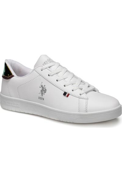 U.S. Polo Assn. Saul Beyaz Kadın Sneaker Ayakkabı