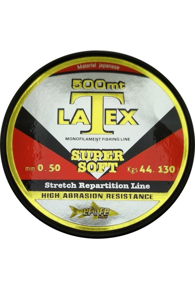 Effe Latex Super Soft Misina 500 Metre 0.50MM Çekeri 44.130KG