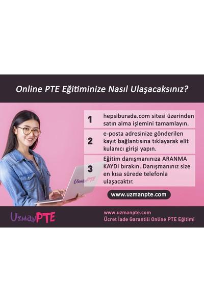 Uzmanpte - Pte Academic Online Hazırlık Eğitimi - 1 Aylık