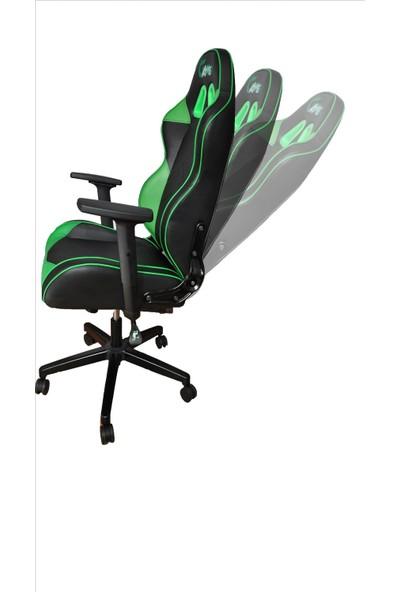 Gamer Yeşil Siyah Oyuncu Koltuğu