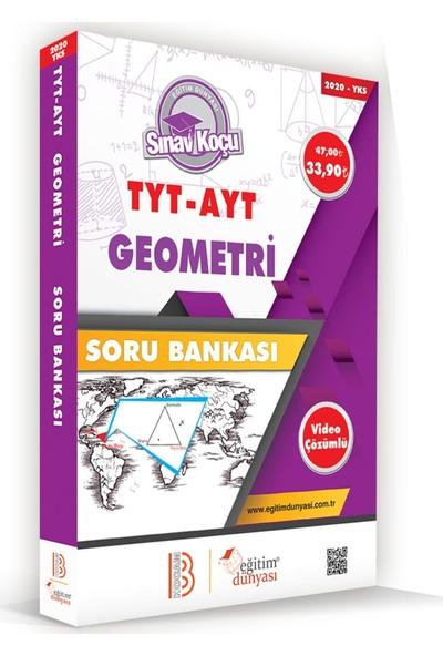Eğitim Dünyası & Benim Hocam Yayınları - Yks-Tyt Ayt Geometri Sınav Koçu Pekiştirme &performans Soru Bankası (Video Çözümlü)