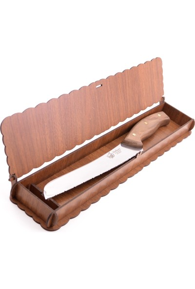 Deliçay Bıçak Mutfak Serisi Ince Dişli Profesyonel Ekmek Bıçağı