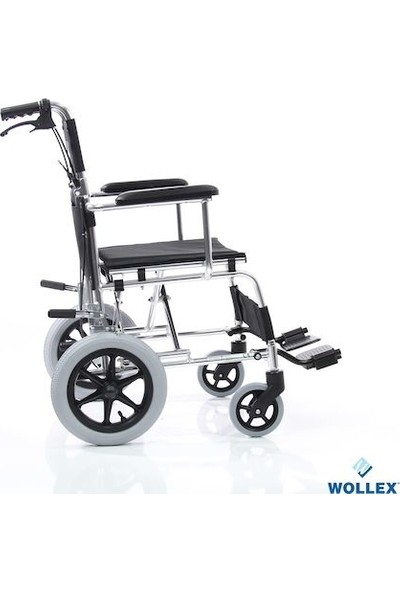 Wollex WG-M805 18 Katlanılabilir Refakatçi Tekerlekli Sandalye