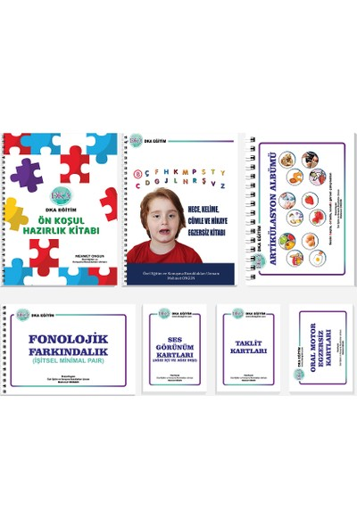 DKA Dil ve Konuşma Terapi Seti (4. Baskı)