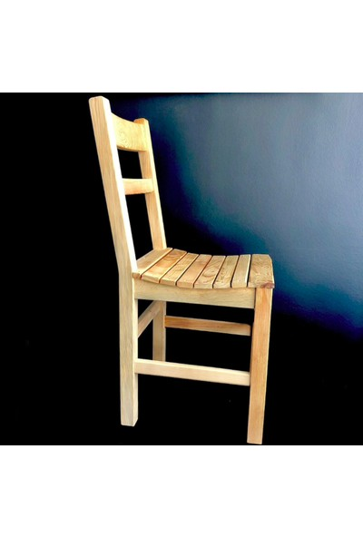 Kocatarla Sandalye Doğal Masif Ahşap