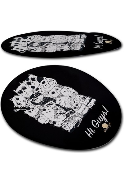 Moonlight Higuy Bilek Destekli Mouse Pad