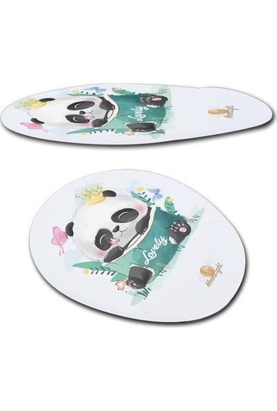 Moonlight Happypanda Bilek Destekli Mouse Pad
