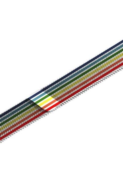 Schulzz Apple Watch Seri 3/4/5 42-44 mm Pride Metal Kordon