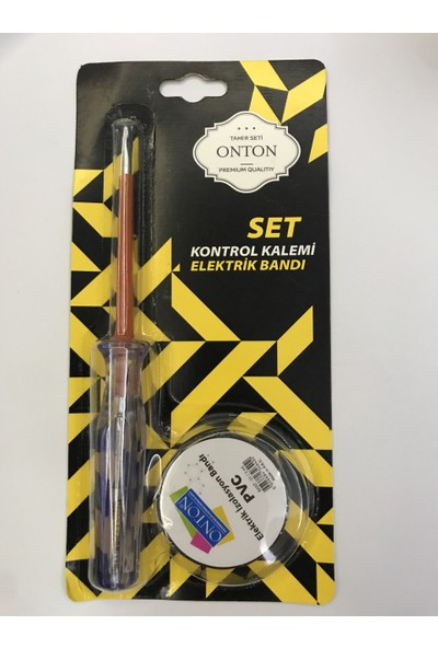 Onton Tamir Seti Kontrol Kalemi+Elektrik Bandı