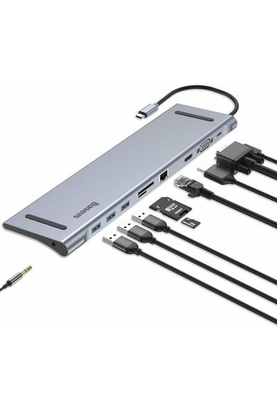 Orite Multifunction Type-C 10IN1 Çoklayıcı Adaptör
