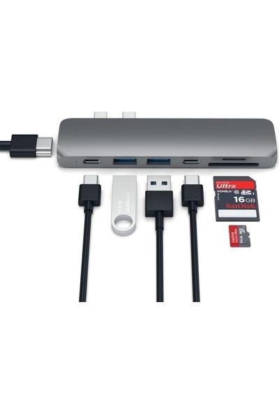 Orite MULTIFUNCTION-0003 7 In 2 Type-C To 4K HDMI Tv Okuyucu Adaptör