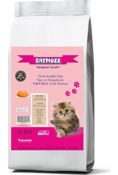 Cat Mozz Tavuklu Kitten Yavru Kedi Maması 10 kg