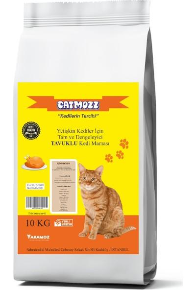 Cat Mozz Tavuklu Yetişkin Kedi Maması 10 kg