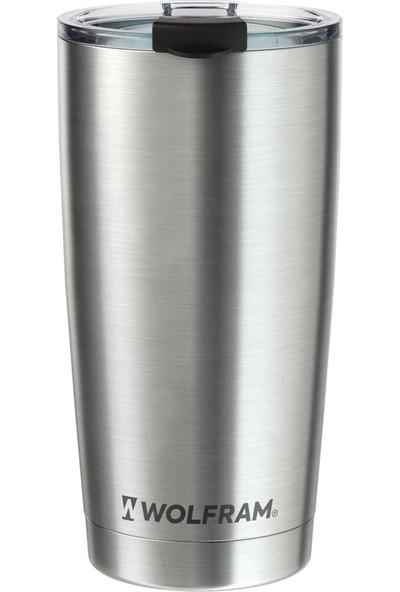 Wolfram Vakumlu Termos Bardak | 18/8 Paslanmaz Çelik, 590ML