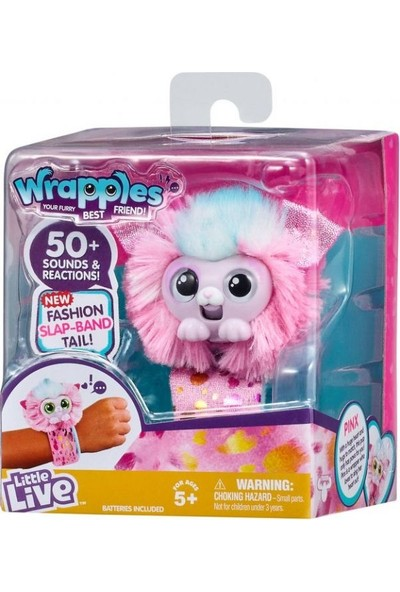Little Live Pets Wrapples Bileklik Pinx S3
