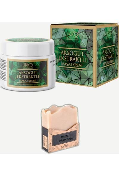 Ukko Cosmetics Aksöğüt Kremi 100 ml ( Ak Söğüt ) Ukko Cosmetics + Tunalı Keçi Sütü Sabunu