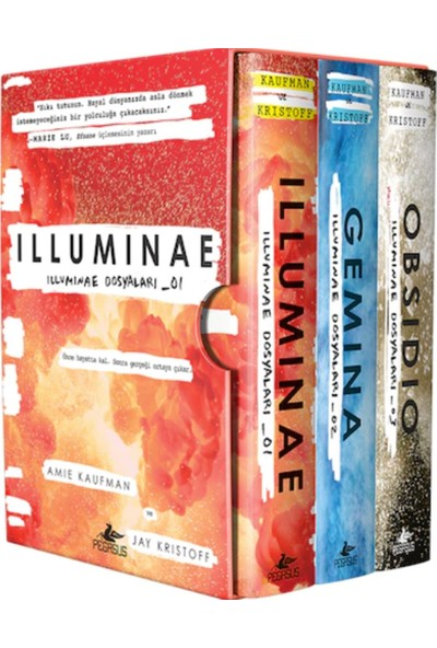 İlluminae Dosyaları Serisi Kutulu Özel Set (3 Kitap) - Amie Kaufman