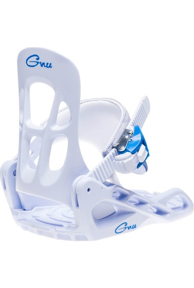 Gnu Onesie White Snowboard Bağlama