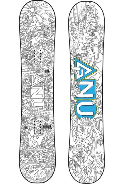 Gnu Asym Recess Btx Çocuk Snowboard
