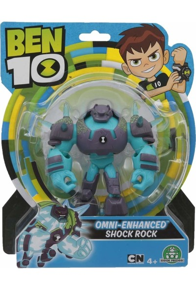 Ben 10 Aksiyon Figür Omni-Enhanced Shock Rock