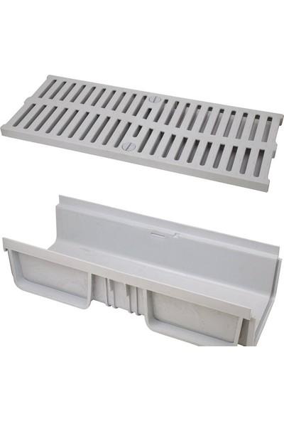 Ak Plastik Modüler Kanal 130 - 110 mm Alt Çıkış