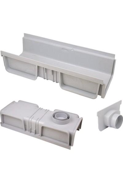 Ak Plastik Modüler Kanal Paslanmaz 130