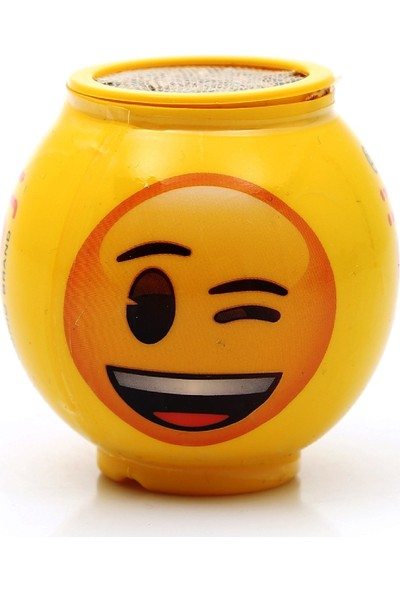 Emoji Çim Adam Emojili Göz Kırpan Tekli