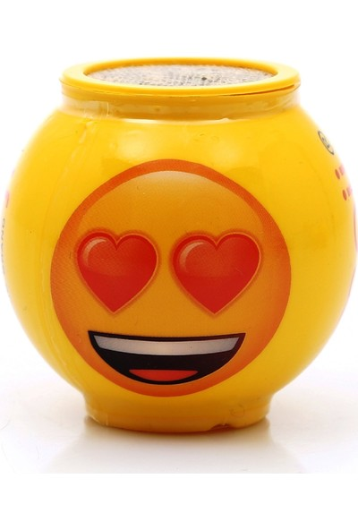 Emoji Çim Adam Emojili Kalpli Tekli