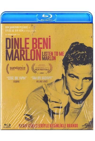 Listen To Me Marlon - Dinle Beni Marlon (Blu-Ray)